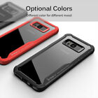 For Samsung Soft Cover Hybrid Hard Clear Shockproof Galaxy S8 & S8 Plus TPU Case