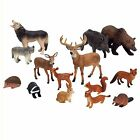Animal Figurine Wild Woodland Action Figure Play Toys by Animal Planet