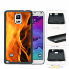 Flames - Galaxy Note 2 3 4 5 Case Cover