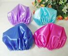 Polyester Satin Silky Feeling Sleep Cap 27cm Bonnet Cap For Hair Extension 20pcs