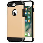 Hybrid Shockproof Rugged Rubber Hard Back Case Cover Shell For iPhone 6 6s Plus