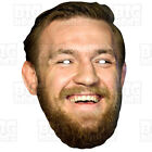 Conor McGregor Card Face Mask Life-size BOXING MAYWEATHER ROCKY TYSON KAHN ALI