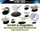 Eaglemoss Star Trek Official Starship Collection : Model & Magazine Issues 100+