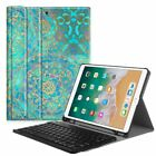 Bluetooth Keyboard Case Cover For iPad Pro 10.5 w/ Built-in Apple Pencil Holder