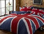 UNION JACK Duvet Cover. Red, White and Blue. Single, Double and King Size.