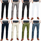 Mens Chino Trousers Stretch Skinny Slim Fit Stallion Jeans Designer Stallion New