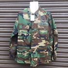 NEW US ARMY SURPLUS ISSUE RIPSTOP WOODLAND CAMO COMBAT JACKET,MARSOC NAVY SEALS