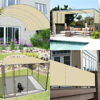 Customize Straight Edge Waterproof Sun Shade Sail UV Blocker Patio Pool Cover 7'