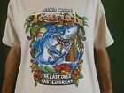 Send more Tourists the last ones tasted great shark T-shirt-resort tee-funny