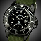INFANTRY Mens Date Quartz Wrist Watch Luminous Outdoor Sport Military Army Nylon image