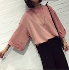 Korean Fashion New Women/Girl Casual short Sleeve T-shirt Loose Blouse Tops &KJ4