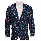 Forever Collectables NFL Men's Houston Texans Ugly Business Jacket, Navy