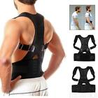 US Posture Corrector Support Magnetic Back Shoulder Brace Belt For Men Women