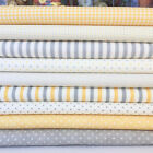 MODA Essentially yours yellow & silver grey bundles for sewing/craft 100% cotton