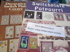 Switchplate Cross Stitch Booklet-Various Designers- Your Choice
