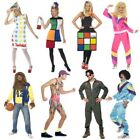 Smiffys Official Adults 80s 90s Fashion Costume Music Carnival Party Fancy Dress