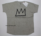 UNIQLO Men Jean Michel Basquiat Natural Men Short Sleeve T-shirt from Japan