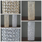 """5 pcs 16"""" tall Faux Crystal Beaded Candle Holder Centerpieces Wedding WHOLESALE"""