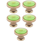Home Bedroom Metal Furniture Drawers Cabinet Knobs 1.3 Inch Outer Dia 5 Pcs