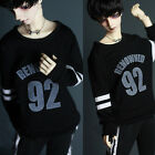 Black 1/3 1/4 Size BJD Doll SD Dollfie DZ Clothes Boy Sports Top Costume