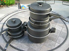 10 Piece Miracle Maid Cookware Mixed Set Dutch Oven Skillet Sauce Pans West Bend