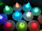 Floating LED Candle Lights in choice of 5 Colours -  12 for £8.95, 24 for £14.50