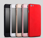2 x Hybrid-360-New-Shockproof-Case-Tempered-Glass-Cover-For-Apple-iPhone-Model