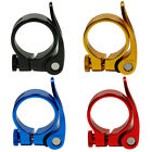 Road Bike MTB Seat Post Clamp  Cycling Saddle Quick Release Alloy 34.9mm PF