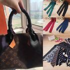 Women Chiffon Long Slim Ribbon Tie Neck Purse Bag Scarf Handle Decoration EC C8