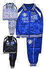 Boys Tracksuit New Kids New York Jacket Jogging Bottoms Ages 4 - 14 Years