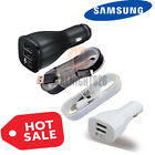 OEM Retail Samsung Galaxy S6 S7 Note 4 5 Adaptive Fast Car Charger & 5Ft Cable