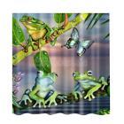 Animal Type Shower Curtain Water Resistant 180x180cm Machine Washable Panel