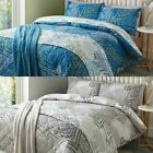 Fusion® 'Alena' Fern Print Duvet Covers Modern Leaf Design Cotton Blend Bedding