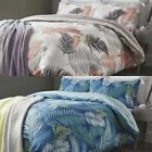Fusion® 'Tropical' Duvet Covers Modern Palm Leaf Jungle Cotton Blend Bedding