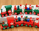 Christmas Train Woods Small Train Xmas Tree Children Kids Light Gift Party Decor