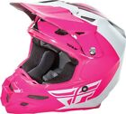 FLY RACING F2 CARBON PURE HELMET PINK/WHITE/BLACK 73-4129 FREE SHIPPING