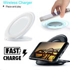 Qi Wireless Fast Charging Charger Pad Stand for Samsung Galaxy S8 S7 S6 Edge