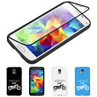 IT- Motorcycle Touch Screen Flip Full Cover Case for iPhone 6S Samsung S6 S7 Uni