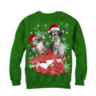Lost Gods Kitten Ugly Christmas Sweater Gift Surprise Womens Graphic Sweatshirt