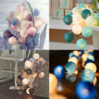 cotton balls - 2.2M 20 LED Cotton Ball LED String Lights Party Wedding Christmas Decor Lights