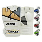 Home gyms boxing - RDX MMA Gloves Boxing Grappling Sparring Fight Training Martial Arts Kickboxing