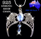 Harry Potter Ravenclaw Lost Diadem Tiara Crown 925 Sterling Silver Necklace Gift