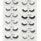 Soft Design 3D 100% Real Mink False Eyelashes Cross Messy Eye Lashes 17 Style