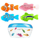 swimming fish toy - Fashion Swim Robofish Activated Robo Fish Toy Fish Robotic Pet With Water Plants