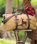 The Lakeside Collection Outdoorsman Canvas Duffel Bag