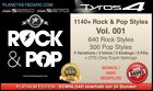 1140+ NEW ROCK & POP YAMAHA STYLES +OTS SFF2  - FOR TYROS 4 -TOP- NEW S975 S970