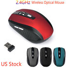 2.4GHz Wireless Optical Mouse USB Receiver Pro Gamer Mice For PC Laptop Desktop
