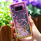 For Samsung Galaxy Note 8  Electroplate Quicksand Liquid Glitter TPU Case Cover