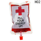 2X Reusable Blood Drink Bags Halloween Pouch Props Vampire Cosplay Happy Toy Fun