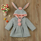 2017 Baby Infant Girls Autumn Winter Hooded Coat Cloak Jacket Thick Warm Clothes